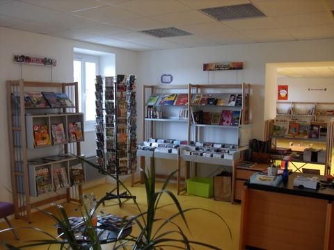 Espace BD à la bibliothèque de Montfaucon
