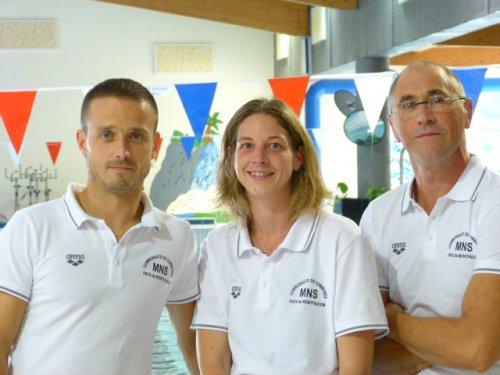 Equipe de la piscine de la Communauté de Communes du Pays de Montfaucon